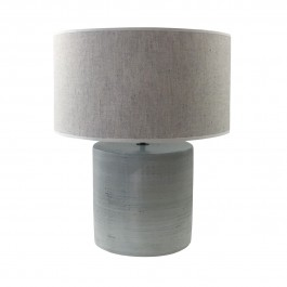Medium size table lamp and shade